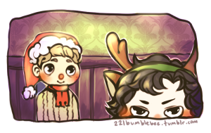 johnlock_christmas_by_cannorachan-d5l0d03